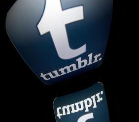 Tumblr compte bannir la pornographie et les contenus réservés aux « adultes ». Photo: Lionel Bonaventure. AFP