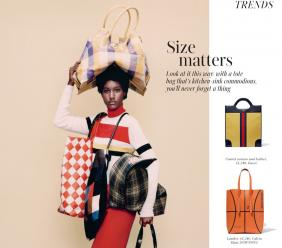 Martinique-born Saint International model Aurelie Giraud is spotlighted in the spring season's fiercest looks.