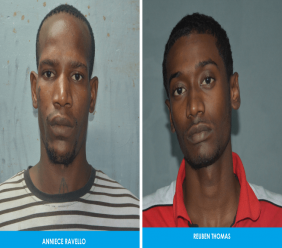 Reuben Thomas, 20, of Esperance Village and Anniece Ravello, 28, of Ste Madeleine, were charged with rape, kidnapping, and sexual assault, against two female victims, which occurred on December 29, 2018. Photos courtesy The Trinidad and Tobago Police Service (TTPS).