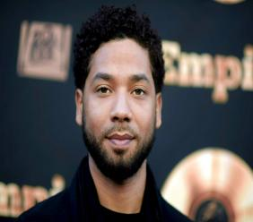 """In this May 20, 2016 file photo, actor and singer Jussie Smollett attends the """"Empire"""" FYC Event in Los Angeles. (Richard Shotwell/Invision/AP, File)"""