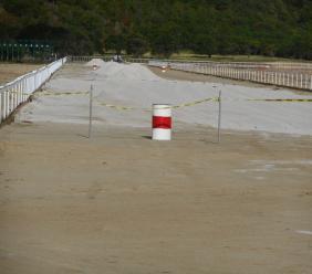 DSH horse track in December 2018