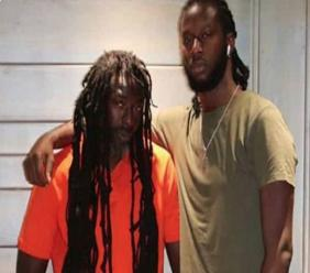 Buju Banton (left) and his son MarKus Myrie in an undated photo posted by the younger Myrie on Monday.