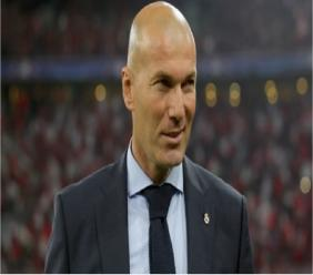 Real Madrid head coach Zinedine Zidane.