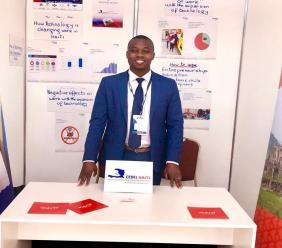 Rock André, Entrepreneur et leader de CEDEL Haiti Crédit Photo; Page Facebook CEDEL