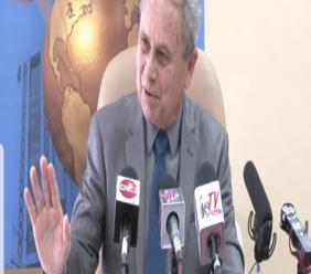 Finance Minister Colm Imbert speaks at a press conference on Friday, May 17, 2019 to discuss the recently announced tax amnesty, expected to come on stream mid-June.