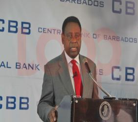 Central Bank Governor Cleviston Haynes