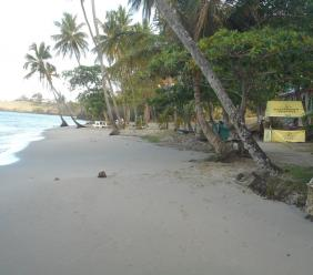 The Rudy John Beach Park in Laborie where Jazz was held over the years