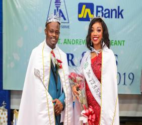 Educators, Andre Hewitt and Kimberly Rose, made history when they were crowned the first ever Mr and Miss JTA St Andrew.