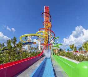 Thrill Waterpark is at the heart of Perfect Day at Coco Cays
