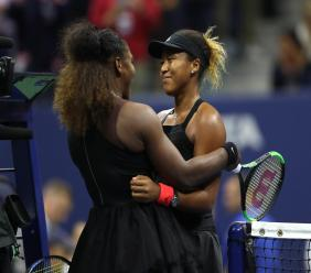 Serena Williams and Naomi Osaka (Getty)