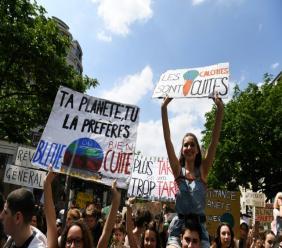 Manifestation pour le climat le 24 mai 2019 à Paris