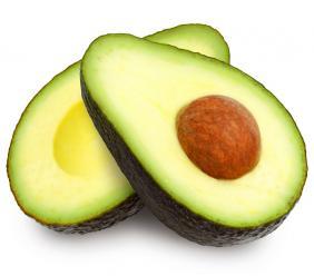 Two slices of avocado. (PHOTO: iStock)
