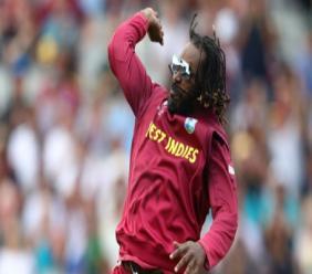 West Indies batsman Chris Gayle.