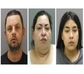 - This combination of booking photos provided by the Chicago Police Department on Thursday, May 16, 2019 shows from left, Pioter Bobak, 40; Clarisa Figueroa, 46; and Desiree Figueroa, 24. Clarisa Figueroa and her 24-year-old daughter, Desiree Figueroa, have been charged with murder in Ochoa-Lopez's death. Clarisa Figueroa's boyfriend, Piotr Bobak, is charged with concealing a homicide. (Chicago Police Department via AP)