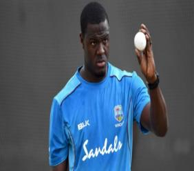 West Indies all-rounder Carlos Brathwaite.