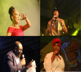 Several well-known persons from different professions who have volunteered to perform to raise funds for the over 500 wards of the Mustard Seed Communities. Photo: Llwellyn Wynter.