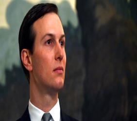 In this March 25, 2019, file photo White House adviser Jared Kushner listens during a proclamation signing with President Donald Trump and Israeli Prime Minister Benjamin Netanyahu in the Diplomatic Reception Room at the White House in Washington. (AP Photo/Susan Walsh, File)