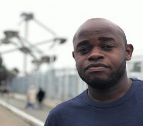 Le journaliste Kendi Zidor, attaqué le 16 juillet par des individus armés au niveau de Delmas 60./Photo: Compte Facebook.