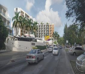 Artist impression of how the redeveloped Blue Horizon Hotel will look when completed.