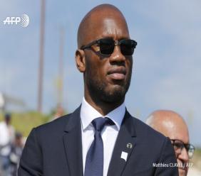 """Drogba président de la Fédération ivoirienne de foot ? """"Pourquoi pas"""" - Photo - AFP"""