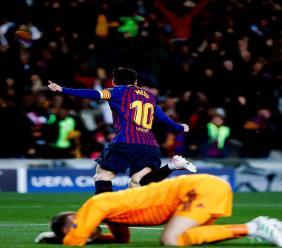 L'Argentin Lionel Messi. Photo : AFP
