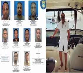 Cesar Emilio Peralta, le puissant narcotrafiquant et chef du cartel activement recherché par la police dominicaine./Photo: Listin Diario.