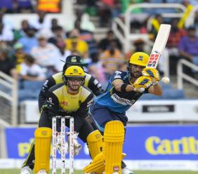 The Jamaica Tallawahs beat the Barbados Tridents to record their first win of the 2019 CPL