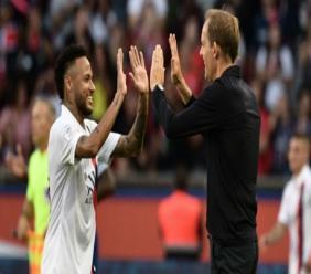 Neymar and Thomas Tuchel.