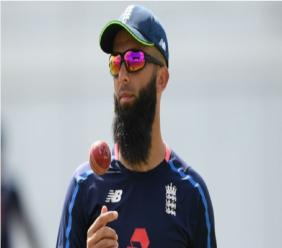 England all-rounder Moeen Ali.