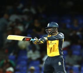 Akeem Jordan took four wickets on debut to deny Darren Sammy's St Lucia Zouks victory