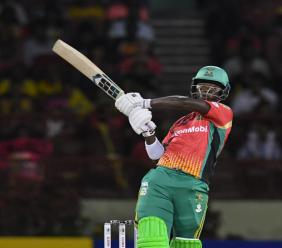 Guyana Amazon Warriors go three for three after beating the Barbados Tridents by 47 runs