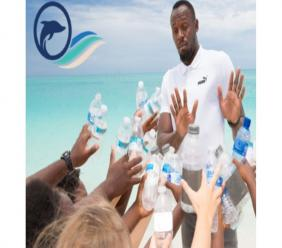 Usain Bolt was the main presenter of the launch of the Turks & Caicos International Film Festival in May.