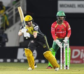 Jamaica Tallawahs' batsman Glenn Phillips.