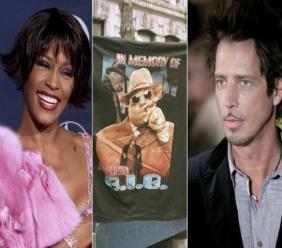 Whitney Houston, Notorious B.I.G et Chris Cornell font partie des nommés au Rock and Roll Hall of Fame afp.com/VINCE BUCCI, JON LEVY, LEON NEAL