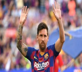 Lionel Messi continues to win plaudits.