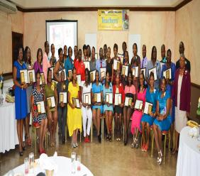 """Carlong's Teachers' Appreciation Luncheon was conceptualized by Director Carl Carby during Teachers' Week in May 2010, in fulfillment of Carlong's role as """"partners in the education process""""."""