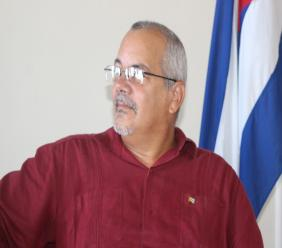 Cuba's Ambassador to Saint Lucia, His Excellency Alejandro Simancas Marin