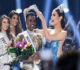 Zozibini Tunzi, Miss Univers 2019 / Photo : AFP