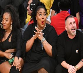 Lizzo is Time Entertainer of the Year. She was under fire this week for exposing her butt at a basketball game.