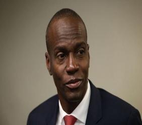 Le président Jovenel Moïse.