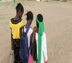 Des jeunes filles reviennent de l'école, au Sénégal (image d'illustration). © AFP PHOTO / SEYLLOU