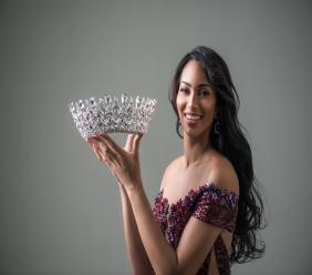 Raquel Pélissier Mis Haïti 2016, 1ère dauphine à Miss Univers 2016, auteur, mannequin. crédit photo: FB Raquel Pélissier