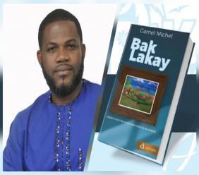 Garnel Michel, auteur de l'ouvrage « Back Lakay », édité chez C3 éditions.