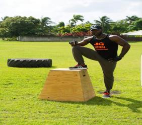 Fitness Entrepreneur Jamar Griffith of J. G Fitness