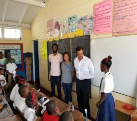 The National Water Commission (NWC) and Miya Jamaica Water Conservation School Tour aims to change water consumption behaviour among the youth, in light of the water crisis challenges faced in Kingston.