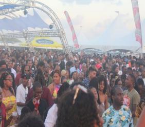 Hundreds flocked to First Light