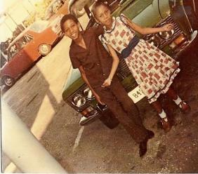 Photo: Prime Minister, Andrew Holness and his sister CJ in earlier years