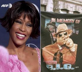 Whitney Houston, Depeche Mode, Notorious B.I.G. entrent au panthéon du rock. Photo: AFP