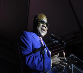 Tourism Minister Edmund Bartlett said the Jamaica Rum Festival will help build Jamaica's gastronomy industry. (Photo: Marlon Reid)