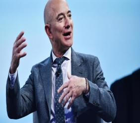 Jeff Bezos lance un fonds pour la terre de 10 milliards de dollars. Photo: AFP